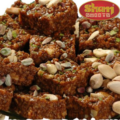 Dodha Burfi at sham sweets india